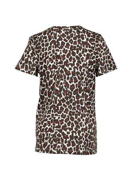 dames t-shirt bruin bruin - 1000014747 - HEMA