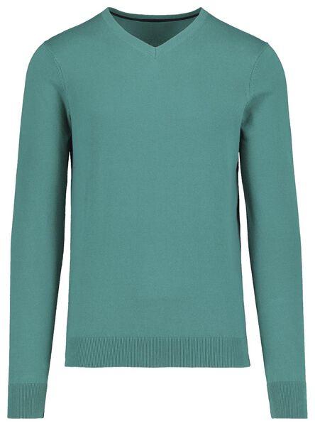 heren pullover groen groen - 1000018183 - HEMA