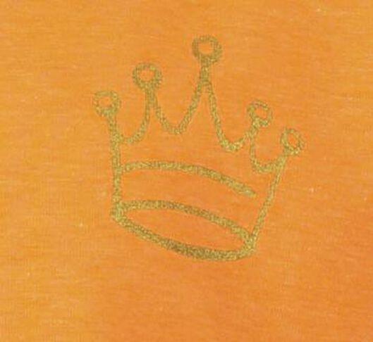 kinderjurk oranje oranje - 1000018938 - HEMA