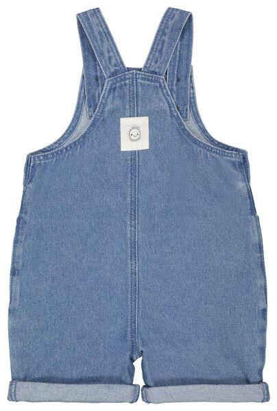 baby jumpsuit denim blauw blauw - 1000023371 - HEMA