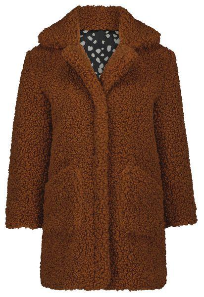 kinderjas teddy bruin 122/128 - 30851181 - HEMA