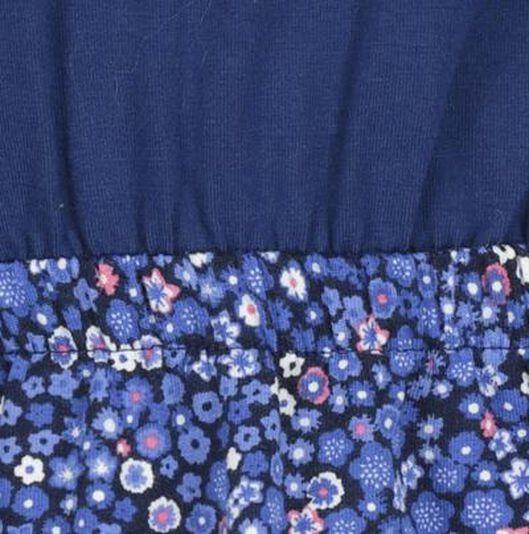 kinderjurk blauw blauw - 1000017611 - HEMA