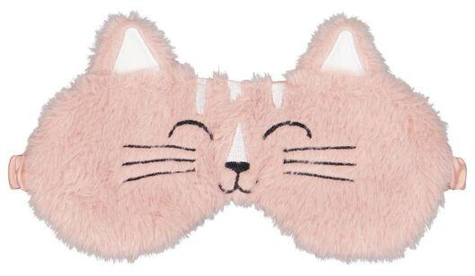 Slaapmasker fluffy kat - in Reisaccessoires