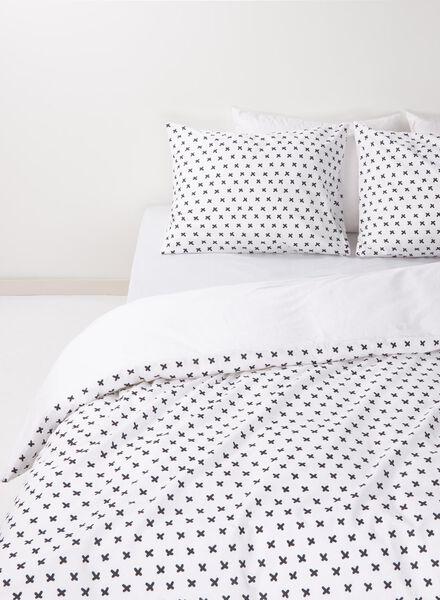 soft cotton dekbedovertrek 200 x 200 cm - 5750105 - HEMA