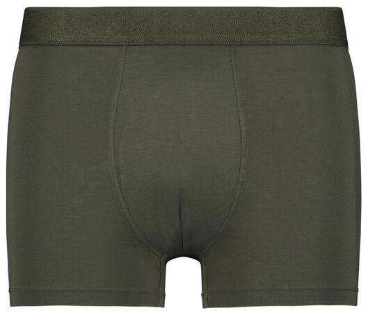 herenboxers kort - modal stretch 2 stuks groen - 1000022800 - HEMA