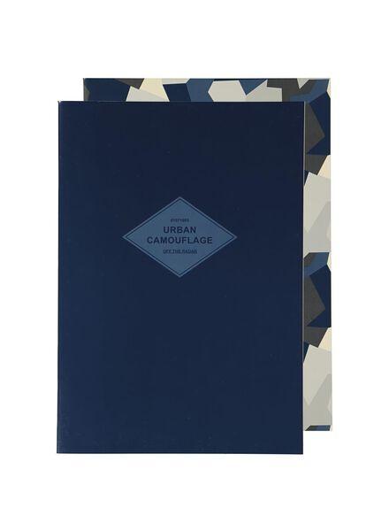 schriften A4 - gelinieerd - 2 stuks - 14501414 - HEMA