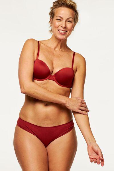 damesstring second skin micro rood rood - 1000020729 - HEMA