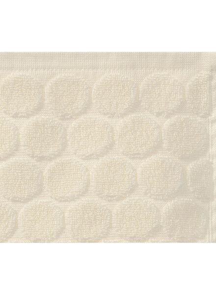 handdoek - 70 x 140 cm - zware kwaliteit - ecru gestipt - 5240188 - HEMA