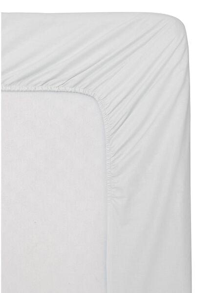 hoeslaken topmatras - zacht katoen - 180 x 200 cm - wit - 5140078 - HEMA