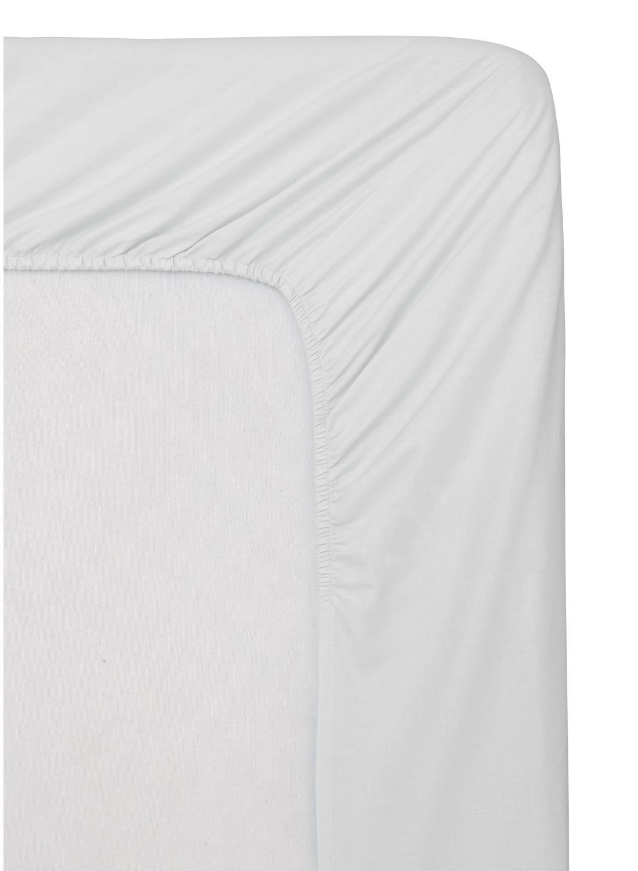 HEMA Hoeslaken Boxspring - Zacht Katoen - 90 X 200 Cm - Wit (blanc)