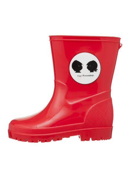 Jip & Janneke baby regenlaarzen rood rood - 1000004777 - HEMA