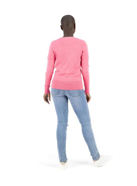damesvest roze roze - 1000014779 - HEMA