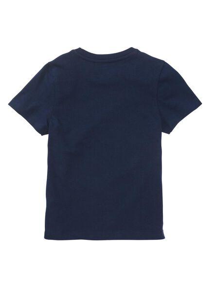 kindershortama donkerblauw donkerblauw - 1000011158 - HEMA