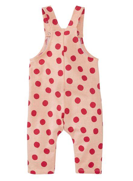 baby jumpsuit lichtroze lichtroze - 1000011360 - HEMA