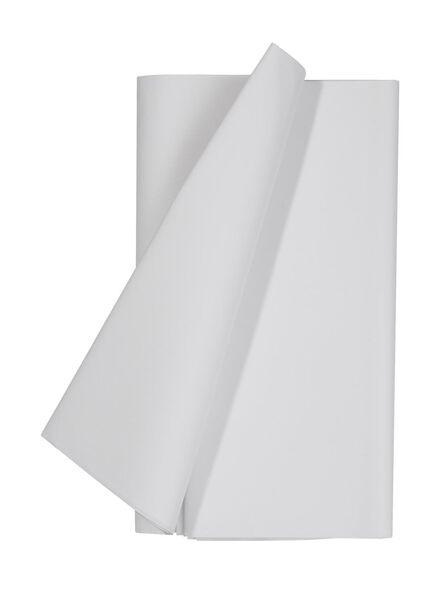 tafelkleed - 138 x 220 - papier - wit - 14252010 - HEMA