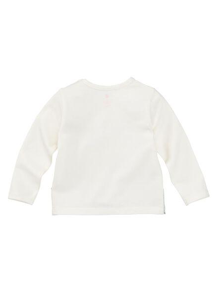 newborn t-shirt gebroken wit gebroken wit - 1000008446 - HEMA