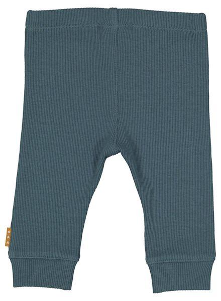 newborn-prematuur broek blauw blauw - 1000014616 - HEMA