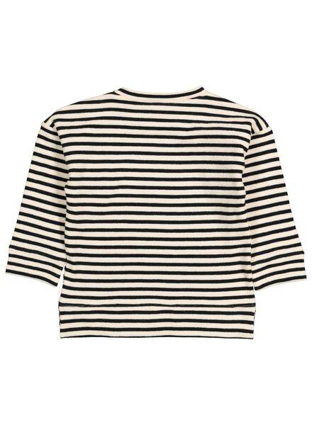 babysweater zwart/wit zwart/wit - 1000015550 - HEMA