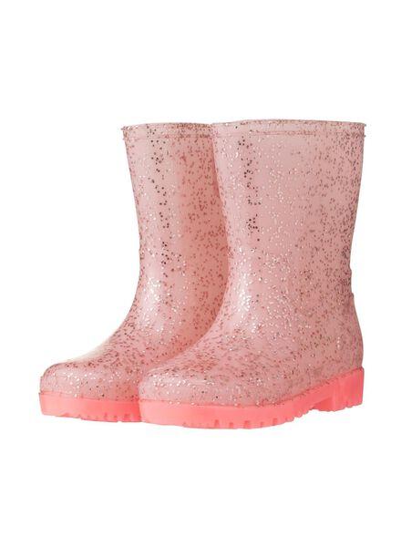 baby regenlaarsjes roze - 1000004786 - HEMA