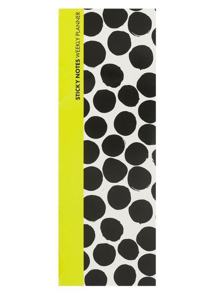sticky notes weekplanner - 14100616 - HEMA