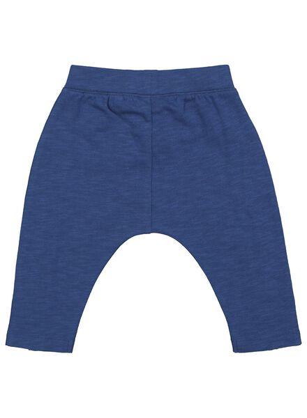 baby sweatbroek donkerblauw donkerblauw - 1000017488 - HEMA