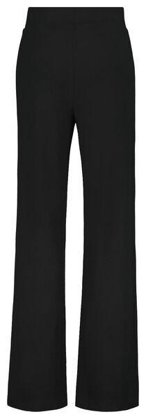 damesbroek zwart L - 36218393 - HEMA