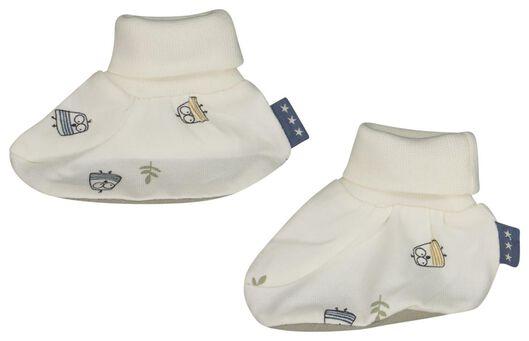 newborn muts en slofjes - 33414010 - HEMA