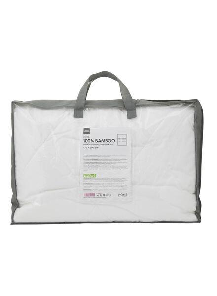 zomerdekbed - bamboe wit wit - 1000014201 - HEMA