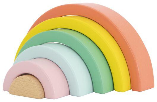 regenboog hout 9.5x18.5 - 15130102 - HEMA
