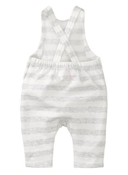baby jumpsuit grijsmelange grijsmelange - 1000008499 - HEMA