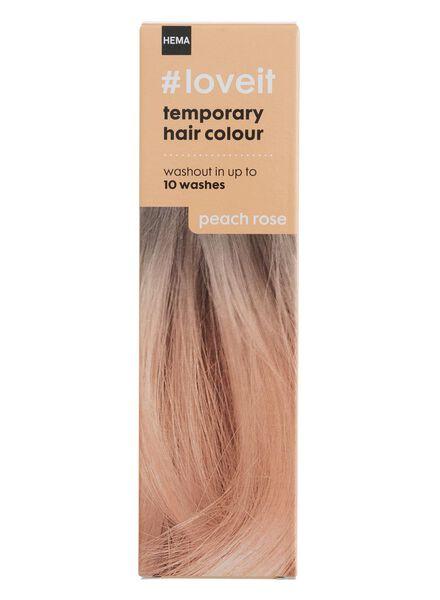 tijdelijke haarkleuring peach rose - 11030002 - HEMA