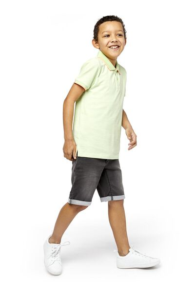 kindershort comfy fit zwart zwart - 1000018954 - HEMA