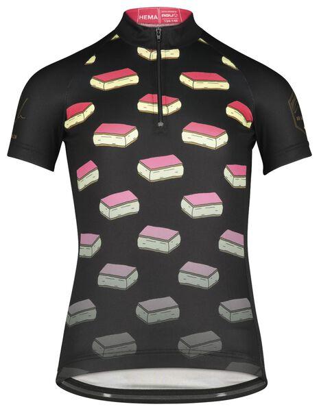 kinder fietsshirt tompouce zwart zwart - 1000021247 - HEMA