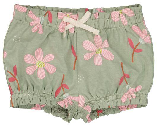 baby shorts - 2 stuks multi 86 - 33030845 - HEMA