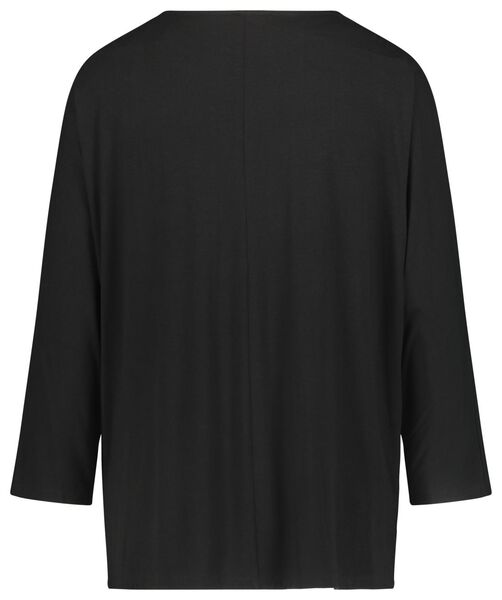 dames top zwart zwart - 1000020972 - HEMA