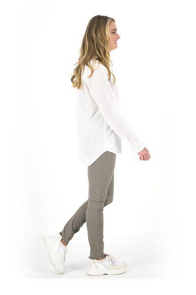 damesbroek - skinny fit creme creme - 1000018683 - HEMA
