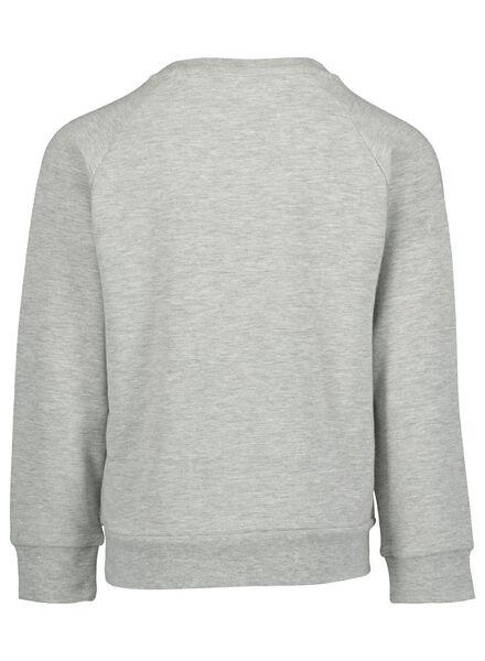 kinderpyjama grijsmelange grijsmelange - 1000016652 - HEMA