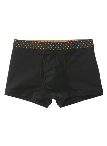 herenboxer zwart zwart - 1000009456 - HEMA
