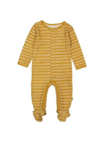 newborn set geel geel - 1000013617 - HEMA