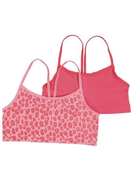 2-pak kinder soft tops roze roze - 1000014985 - HEMA