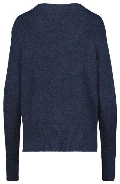 damessweater donkerblauw donkerblauw - 1000018048 - HEMA