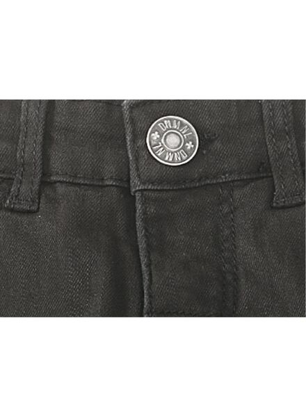 kinderbroek skinny zwart zwart - 1000010461 - HEMA