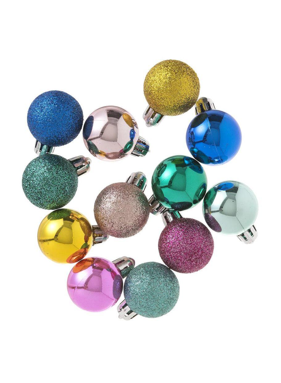 12 Pak Plastic Kerstballen Hema
