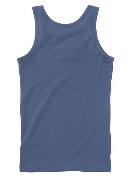 2-pak kinderhemden blauw blauw - 1000009348 - HEMA