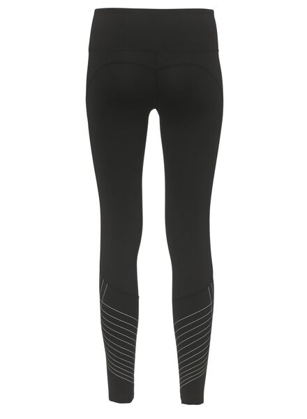 dames sportbroek zwart zwart - 1000010796 - HEMA