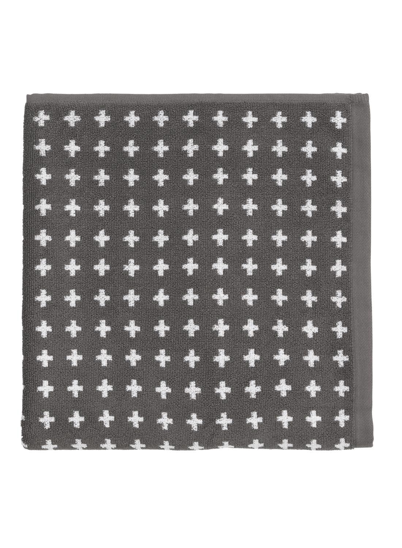 HEMA Handdoek - 70 X 140 - Zware Kwaliteit - Grijs Plus (gris foncé)