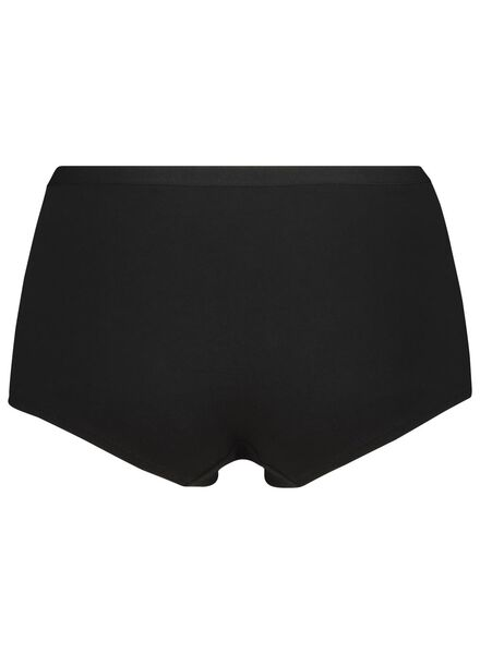 dameshipster katoen zwart zwart - 1000014522 - HEMA