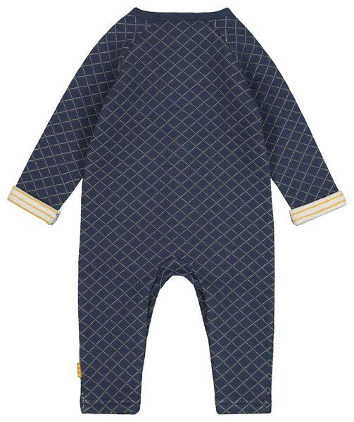 newborn jumpsuit blauw blauw - 1000017302 - HEMA