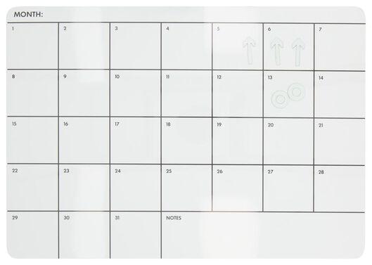 Whiteboard 28x39 maandplanner