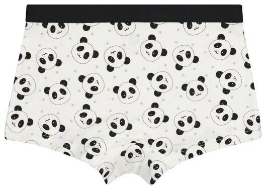 3-pak kinderboxers met bamboe panda grijs grijs - 1000021051 - HEMA